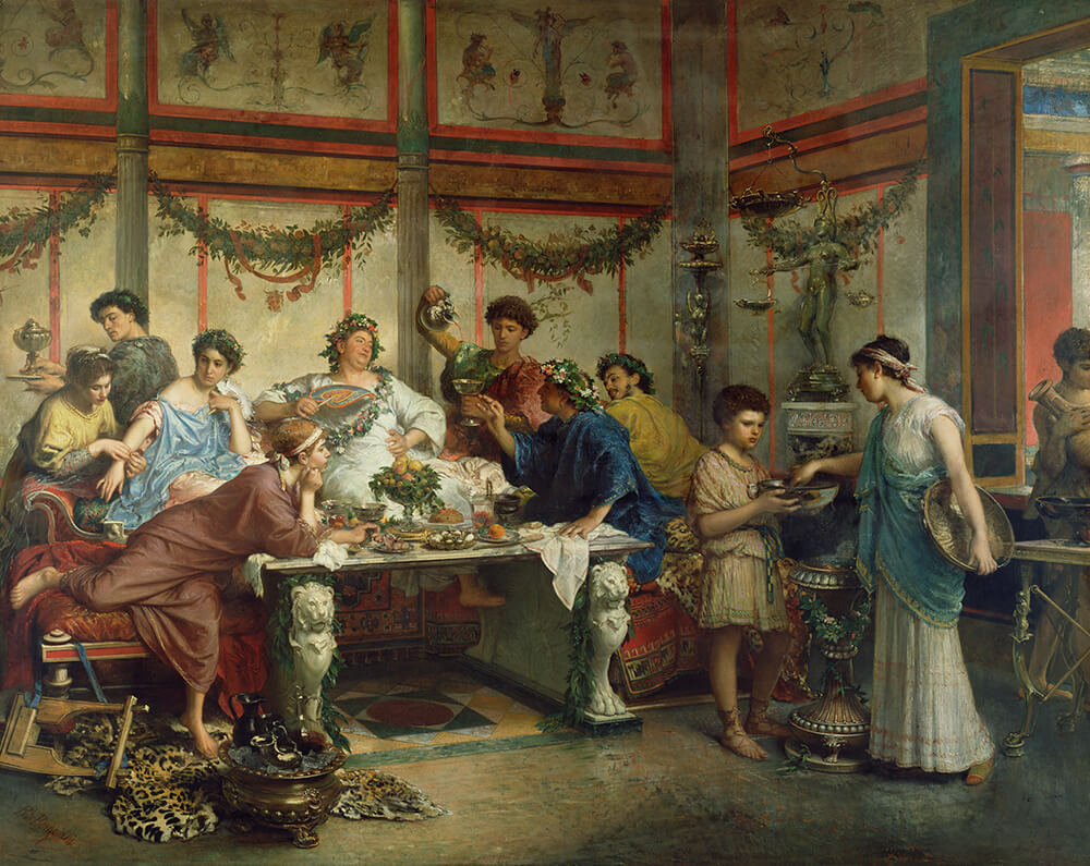 A Roman Feast - Courtesy of the Getty's Open Content Program